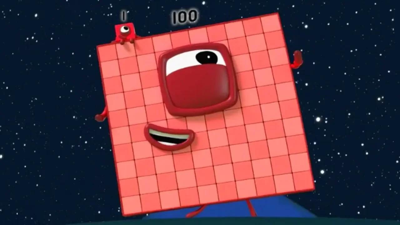 كتل أرقام 100 ، 60 ، 70 ، 80 ، 90 !!! 5 حلقات Numberblocks جديدة !!! تعلم العد! بدون موسيقى | Numberblocks 100, 60, 70, 80, 90!!! 5 New Numberblocks Episodes!!! Learn to count! No Music