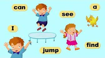 220 Sight Words | Lesson 1-32 | Level 1-5 | High Frequency Words | Go! Sight Words | 玩转英语常见词 | 高飞英语第1-32課 بدون موسيقى | 220 Sight Words | Lesson 1-32 | Level 1-5 | High Frequency Words | Go! Sight Words | Common English Words | Goofy English Lesson 1-32 No Music