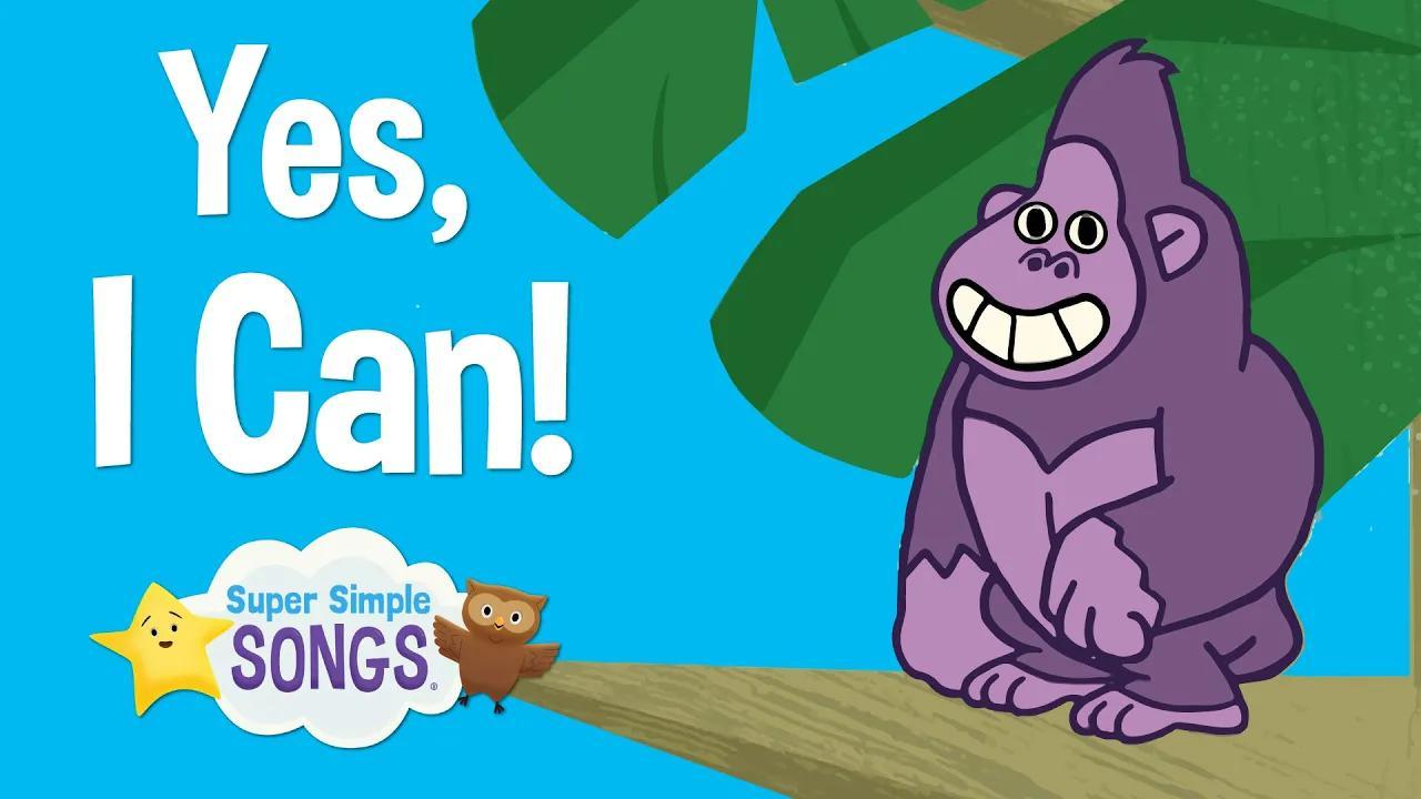 أجل، أستطيع! | اغنية الحيوان للاطفال | أغاني سوبر بسيطة بدون موسيقى | Yes, I Can! | Animal Song For Children | Super Simple Songs No Music