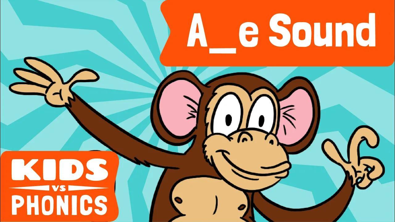 A_E | متعة الصوتيات | كيف تقرأ | ماجيك إي | صُنع بواسطة Kids vs Phonics بدون موسيقى | A_E | Fun Phonics | How to Read | Magic E | Made by Kids vs Phonics No Music