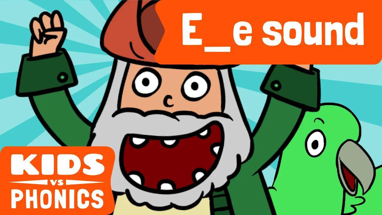 E_E | متعة الصوتيات | كيف تقرأ | ماجيك إي | صُنع بواسطة Kids vs Phonics بدون موسيقى | E_E | Fun Phonics | How to Read | Magic E | Made by Kids vs Phonics No Music
