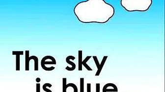 What Color is the Sky? children's song 空は何色?のうた بدون موسيقى | What Color is the Sky? Children's song What color is the sky? Song No Music