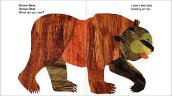 الدب البني ، الدب البني ، ماذا ترى اقرأ بصوت عالٍ بدون موسيقى | Brown Bear, Brown Bear, What Do You See  Read Aloud No Music
