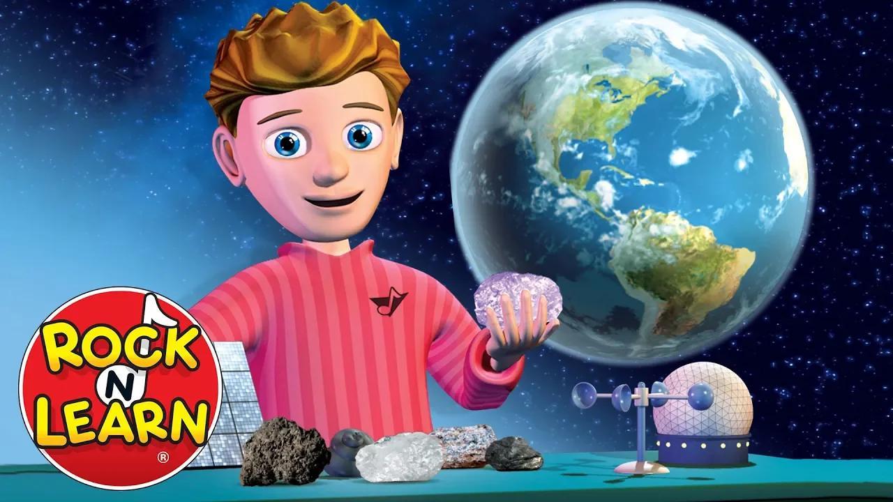 علوم الأرض للأطفال - النظام الشمسي والطقس والحفريات والبراكين والمزيد بدون موسيقى | Earth Science for Kids - Solar System, Weather, Fossils, Volcanoes & More No Music