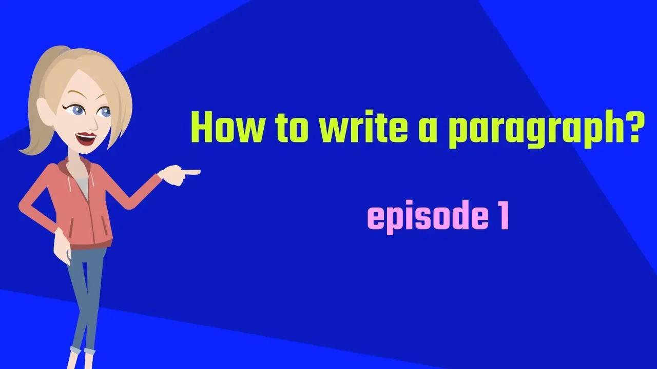 كيف تكتب فقرة بدون موسيقى   How to write a paragraph No Music