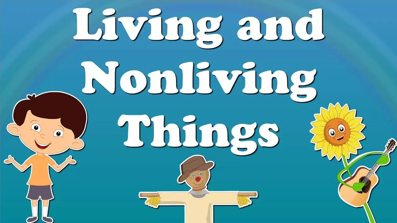 الأشياء الحية وغير الحية | #aumsum # أطفال # علوم # تعليم # أطفال بدون موسيقى | Living and Nonliving Things | #aumsum #kids #science #education #children No Music