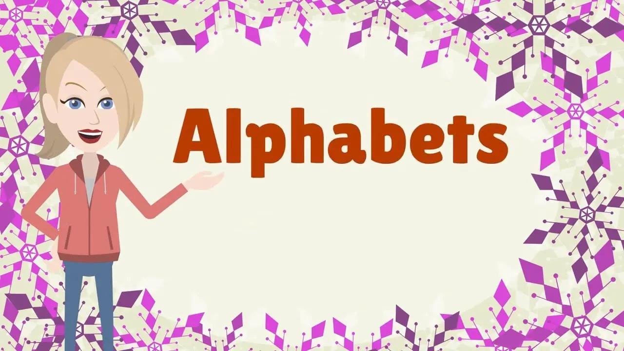 أغاني الأبجدية لرياض الأطفال بدون موسيقى | Alphabet songs for kindergarten No Music