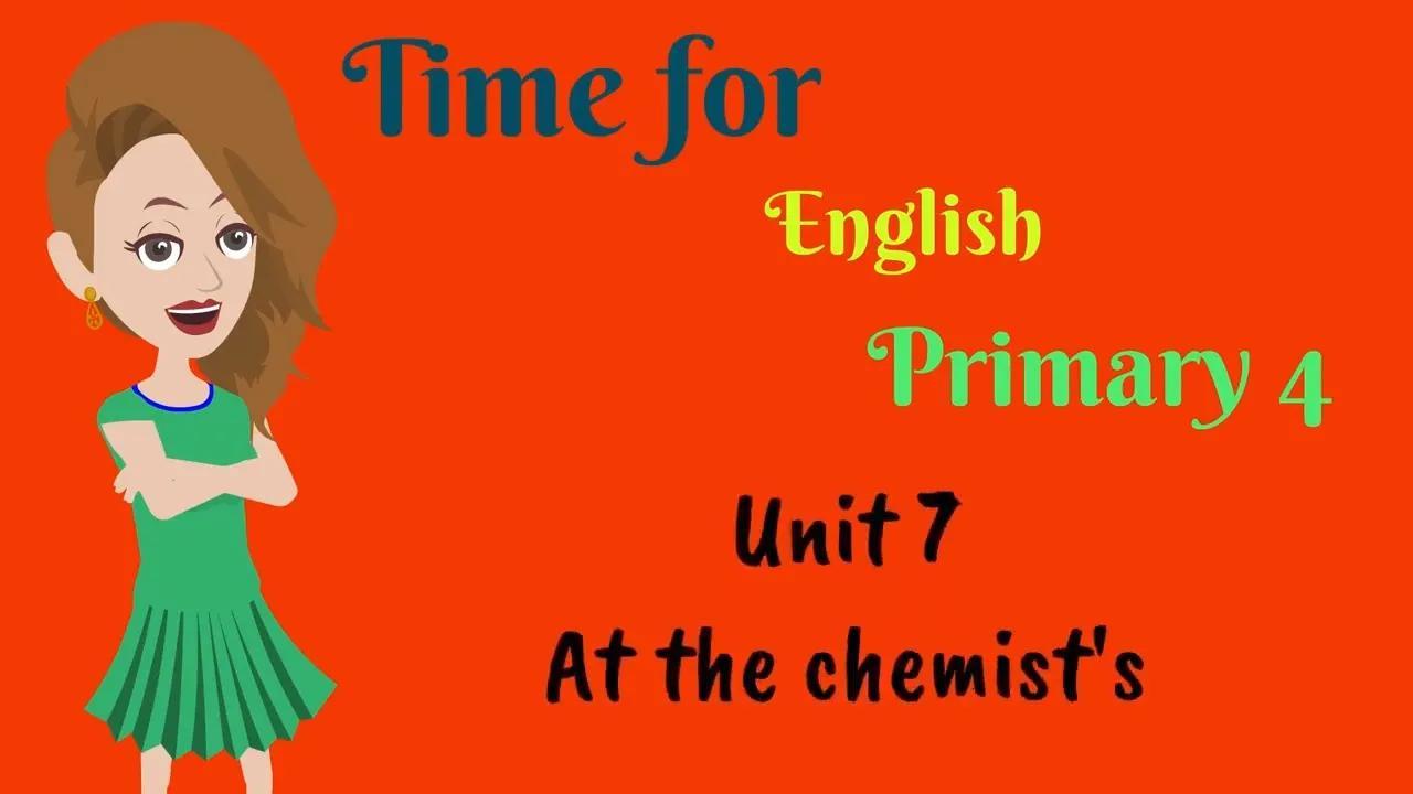 الوقت للغة الإنجليزية ، الابتدائي 4 بدون موسيقى | Time for English, Primary 4 No Music