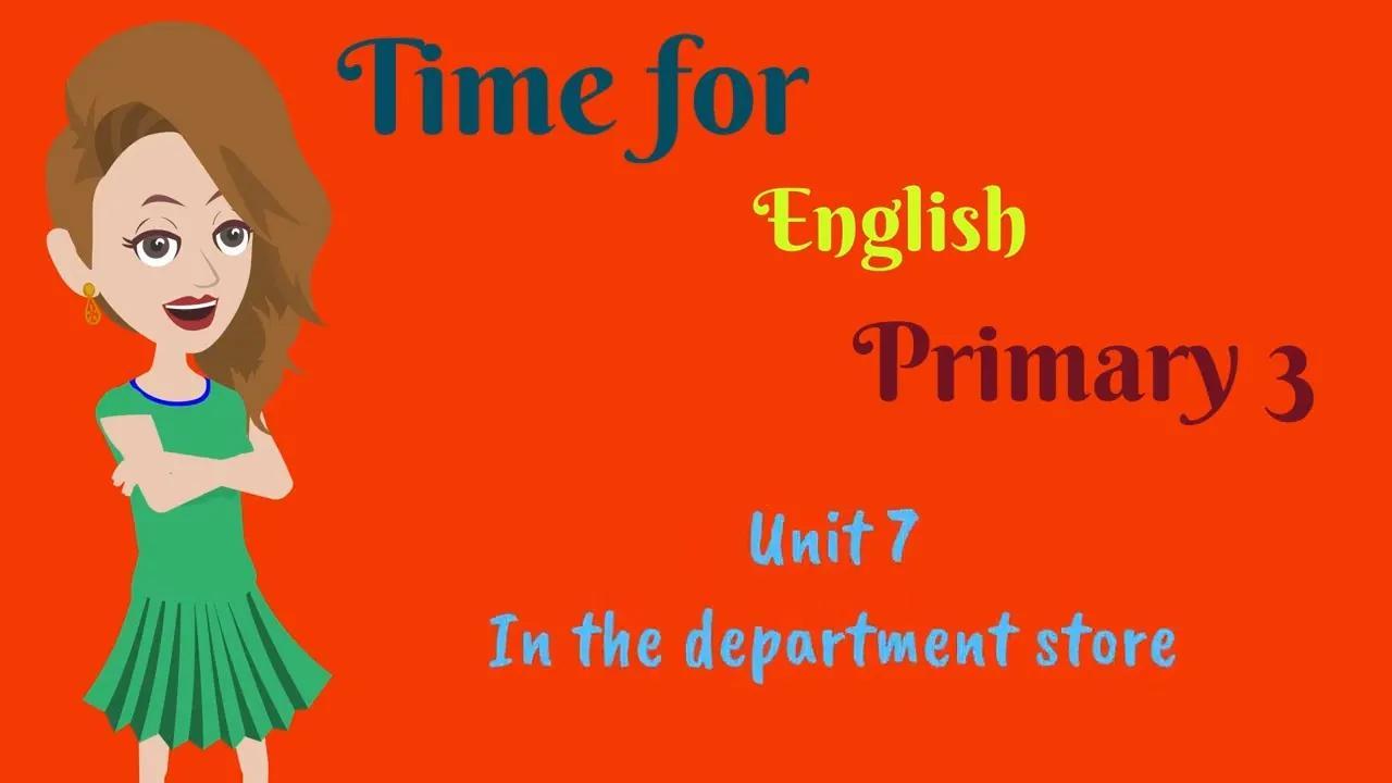 الوقت للغة الإنجليزية ، الابتدائي 3 بدون موسيقى | Time for English, Primary 3 No Music