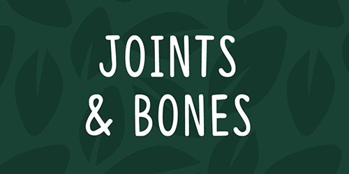 Health Monthly Autumn Joints & Bones Products