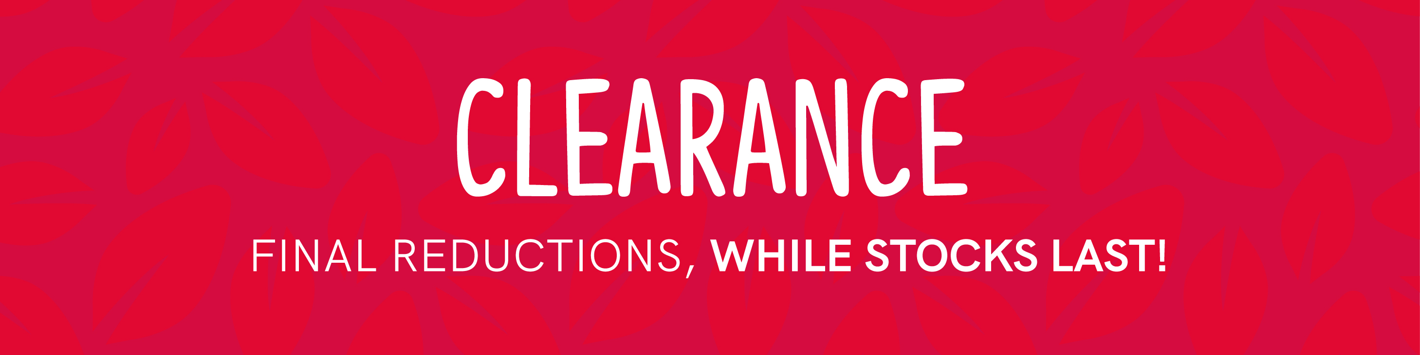 HealthMonthly Clearance
