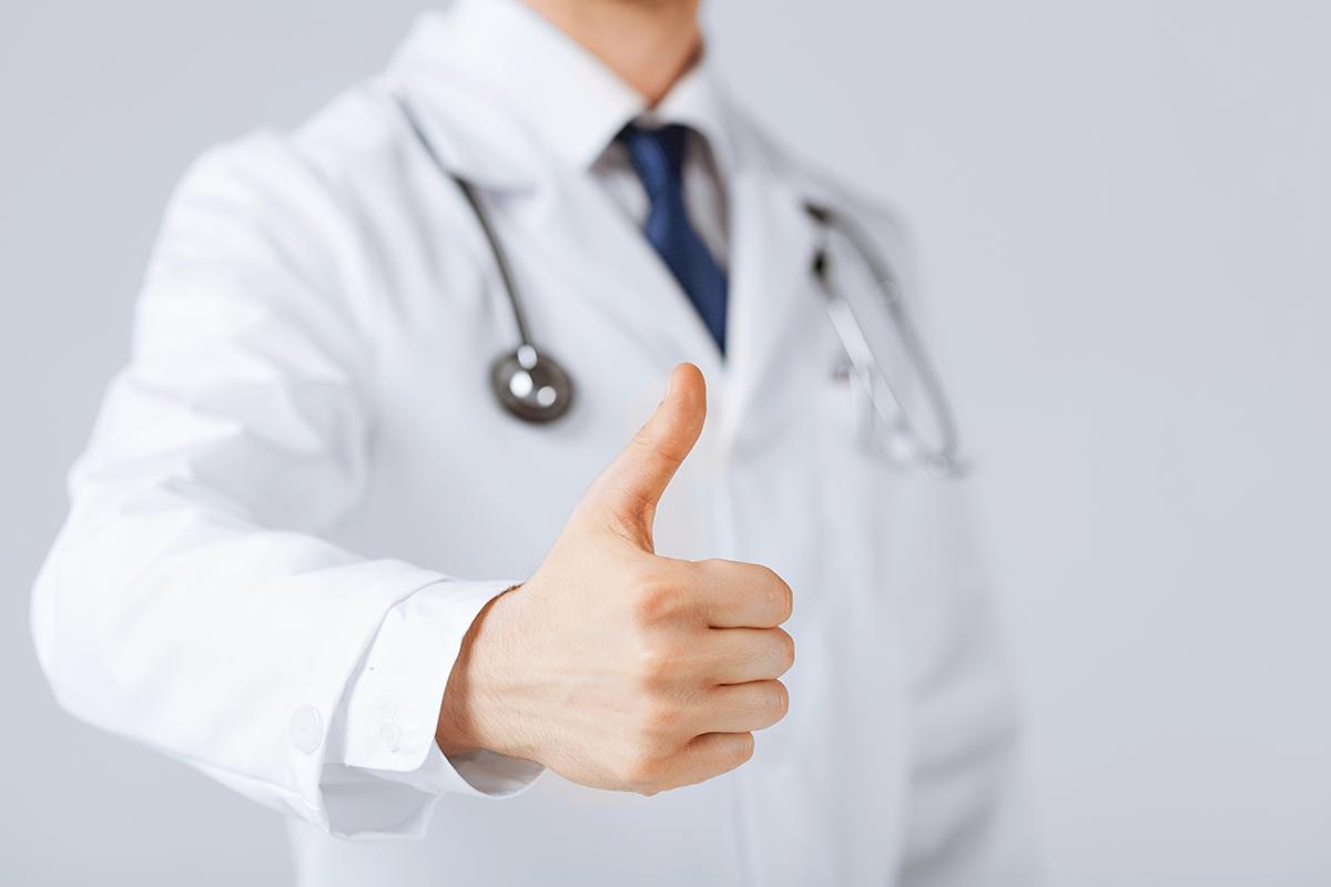 Doctor's Best Thumbs Up