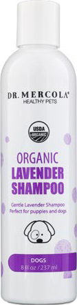 Dr. Mercola Healthy Pets, Organic Lavender Shampoo for Dogs 237 ml