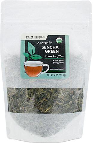 Dr. Mercola Organic Sencha Green Loose Leaf Tea 113.4 g