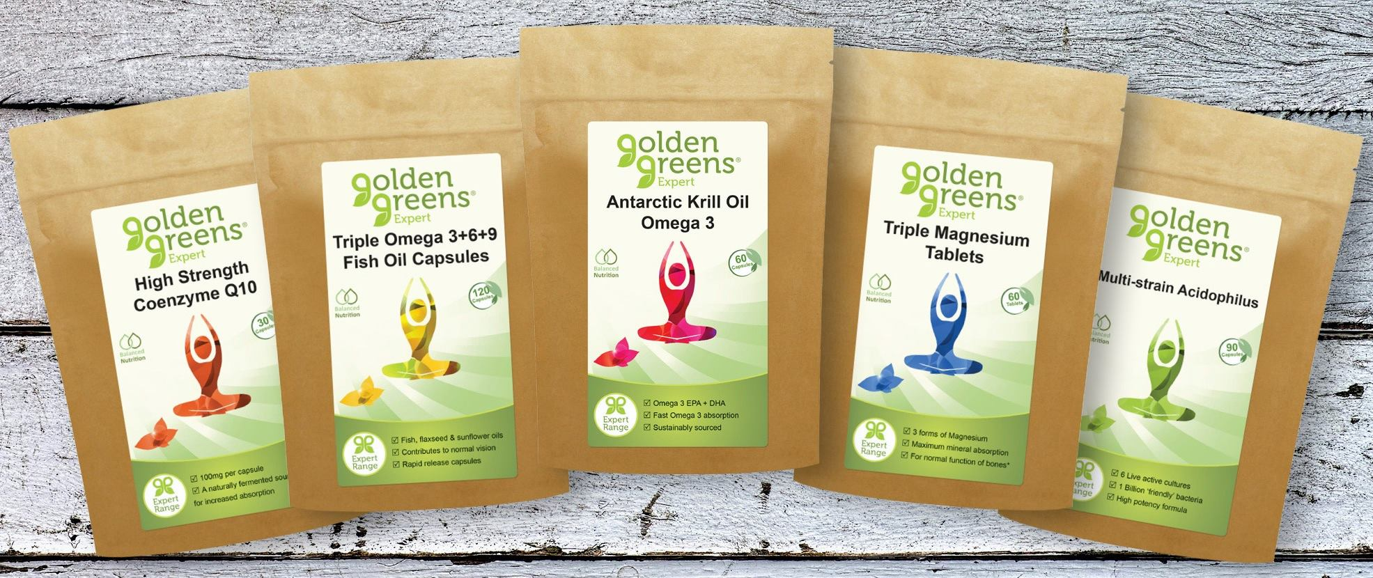 Golden Greens Products