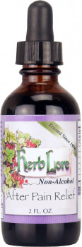 Herb Lore After Pain Relief Tincture Alcohol Free, 59 ml (2 oz.)