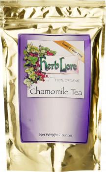 Herb Lore 100% Organic Chamomile Tea, 56 g (2 oz.) Bag