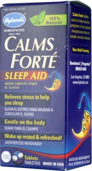 Hyland's Calms Forte Sleep Aid, 100 Tablets