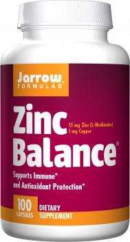 Jarrow Zinc Balance, 15 mg, 100 Capsules