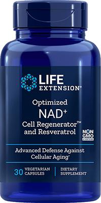 Life Extension NAD+ Cell Regenerator Nicotinamide Riboside, 100 mg, 30 Vegetarian Capsules
