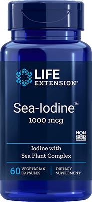 Life Extension Sea-Iodine, 1000 mcg, 60 Vegetarian Capsules