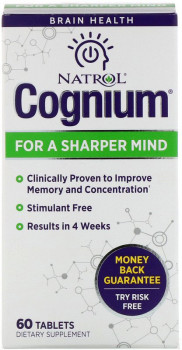 Natrol Cognium For A Sharper Mind, 60 Tablets