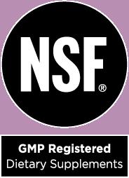 Natures Way Badge NSF