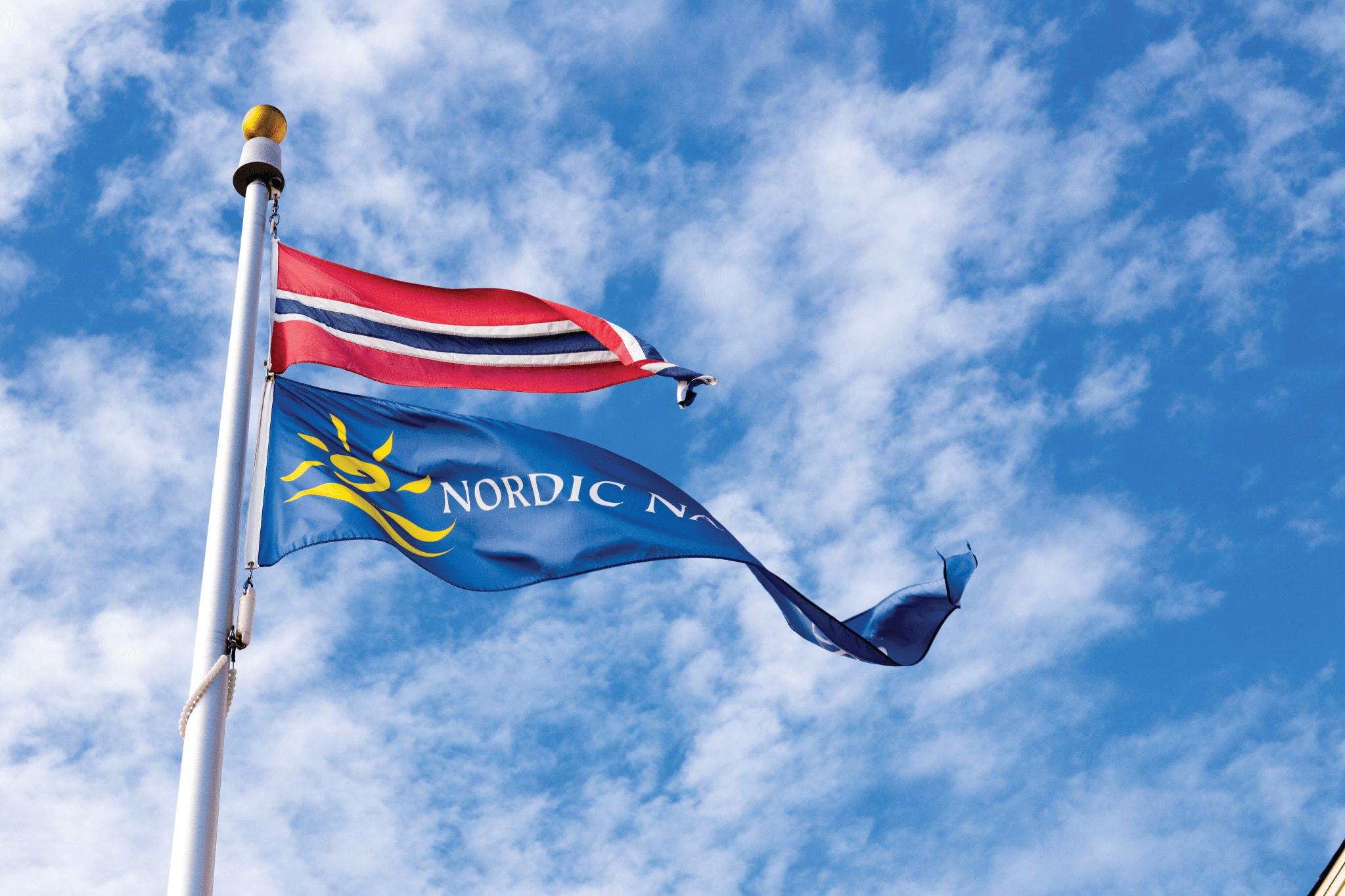 Nordic Naturals Flags