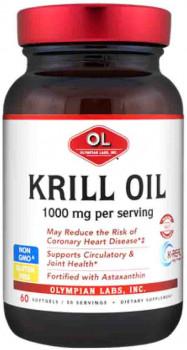 Olympian Labs Krill Oil 1000 mg, 60 Softgels