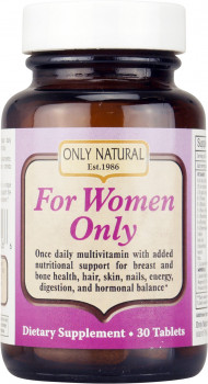Only Natural For Women Only, 30 Tablets