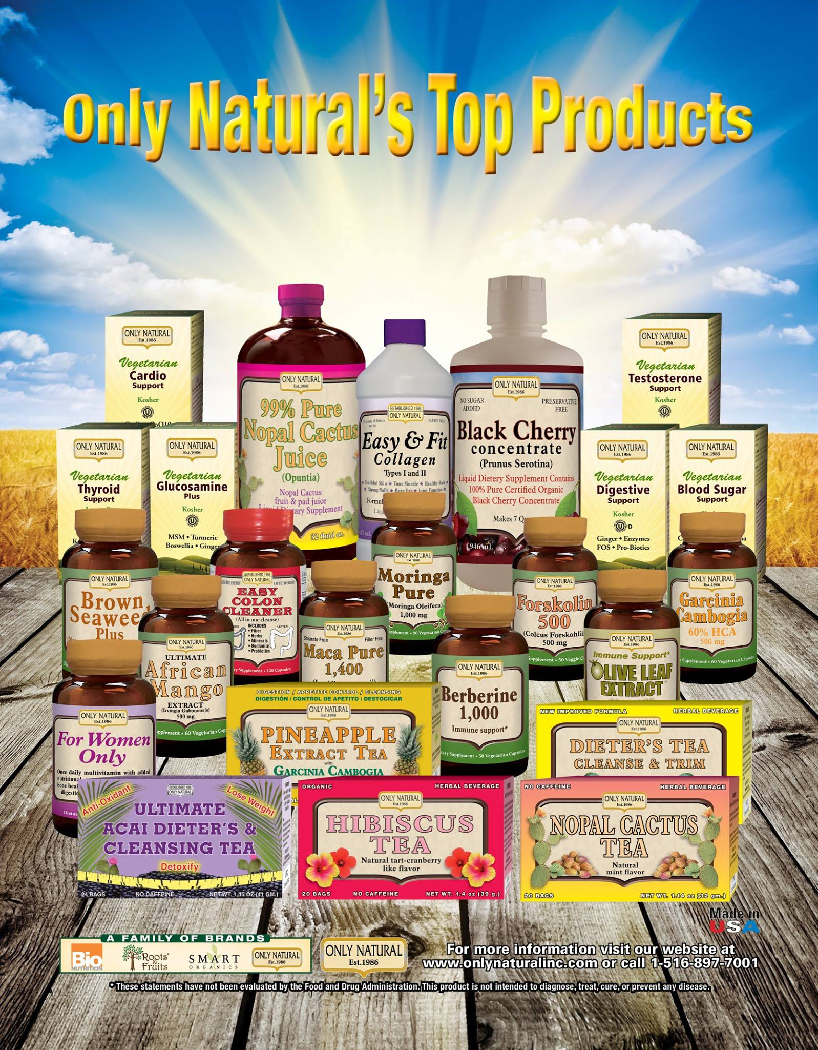 Only Naturals Products