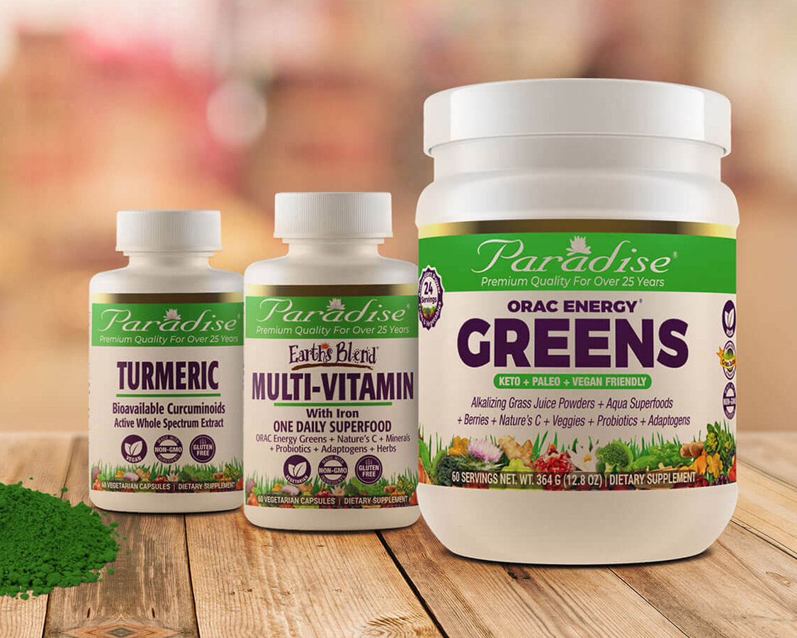 Paradise Herbs New Look