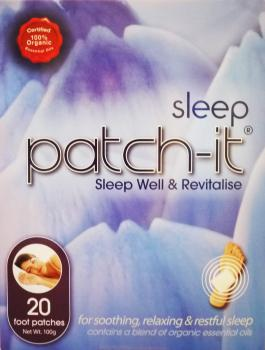 Patch-It Sleep Well and Revitalise 20 Foot Patches