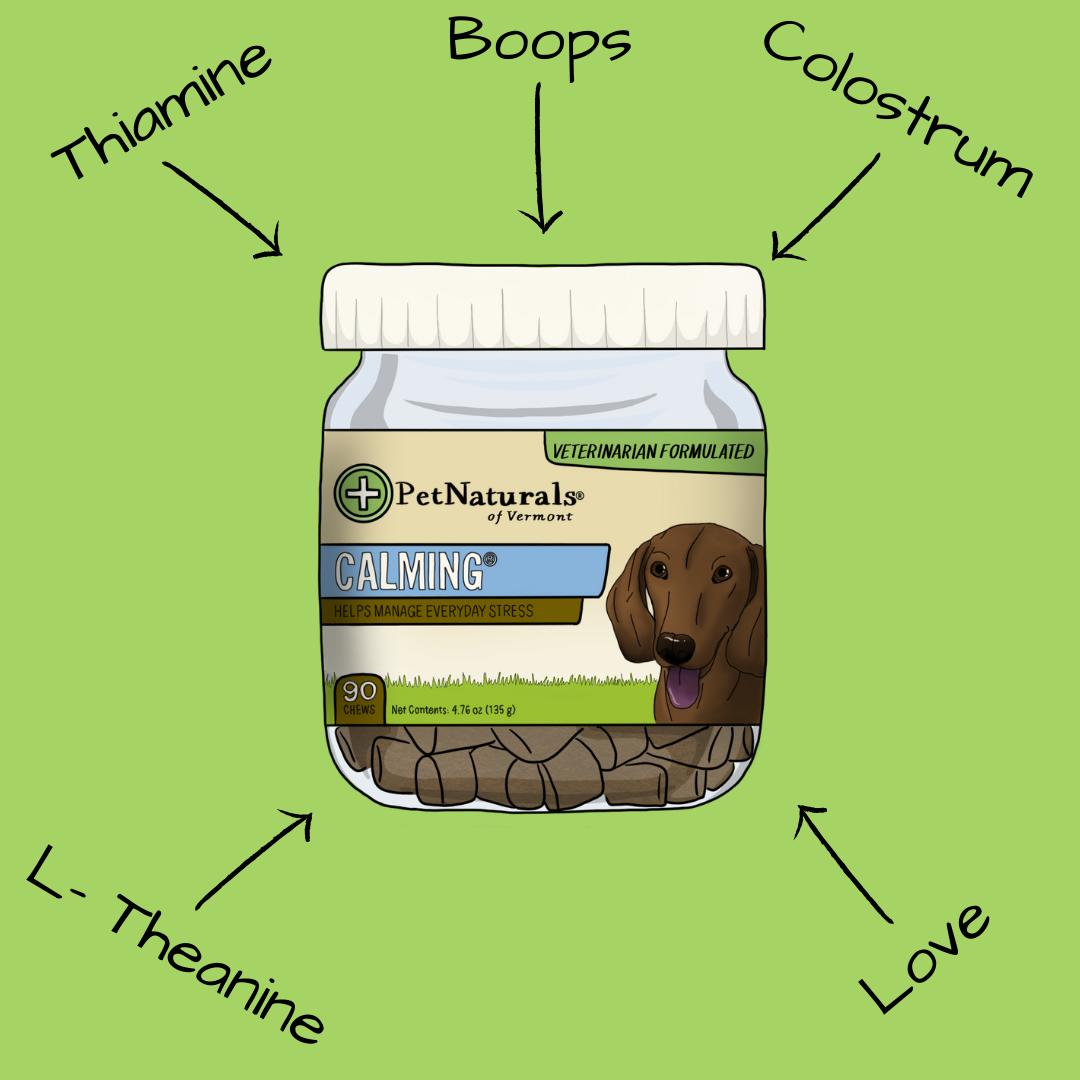 Pet Naturals Calming Ingredients