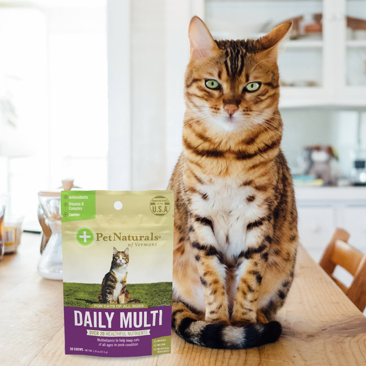 Pet Naturals Cat With Product
