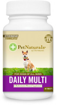 Pet Naturals Daily Multi Tab for Dogs, 60 Tablets