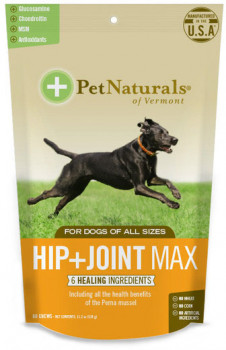 Pet Naturals Hip & Joint Pro for Dogs, 60 Chews