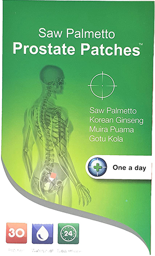 Snowden Saw Palmetto Prostate Patches, 30 Patches