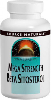 Source Naturals Mega Strength Beta Sitosterol 375 mg, 120 Tablets