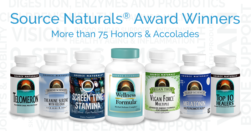 Source Naturals Awards