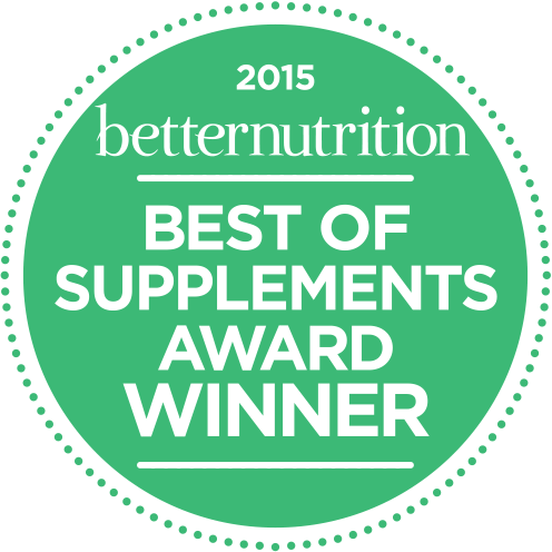 BetterNutrition Best Supplement 2015 Winner Logo