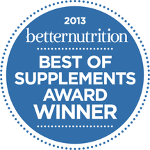 BetterNutrition Best Supplement 2013 Winner Logo