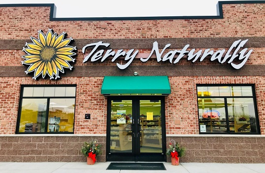 Terry Naturally Store Front