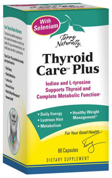 Terry Naturally Thyroid Care Plus with Selenium 60 Capsules