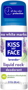 Kiss My Face No White Marks Liquid Rock Roll On Deodorant