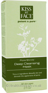Kiss My Face Pore Shrink Deep Pore Cleansing Mask