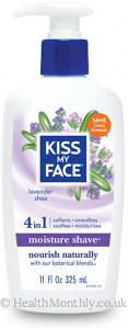 Kiss My Face 4-in-1 Lavender Shea Moisture Shave