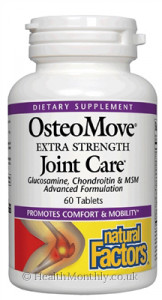 Natural Factors OsteoMove Extra Strength Joint Care