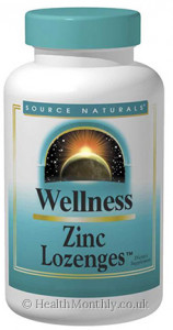 Source Naturals Wellness Zinc Lozenges