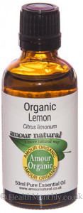 Amour Natural Organic Lemon Pure Essential Oil